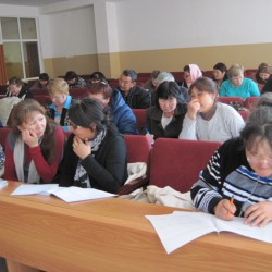 Выездные курсы по теме «Технология и организация социального обслуживания граждан пожилого возраста» КЦСОН Боханского района