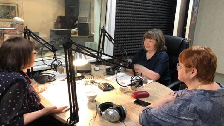 Участие в прямом эфире «Радио России»